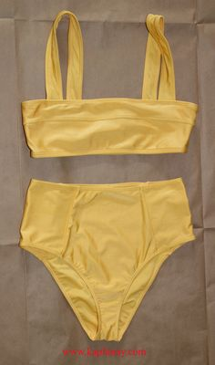 9cb9a6f57549 KapFanny Adventures Discoveries & Insight. Two Piece SwimsuitsYellow ...