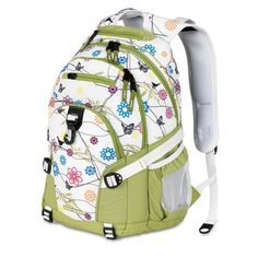 For Emma. @Overstock - Pack your things in convenient style with this loop birds on a wire designed High Sierra backpack. Adjustable shoulder straps and a spacious design with several pockets combine to create a wonderfully useful and comfortable bag.http://www.overstock.com/Luggage-Bags/High-Sierra-Loop-Birds-on-a-Wire-Backpack/6376106/product.html?CID=214117 $29.99