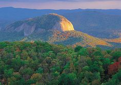Looking Glass Rock, near Brevard. (Courtesy K Fischer/myBudgetTravel) From: Coolest Small Towns in America. Click on the photo to nominate your favorite small town for 2014's contest!