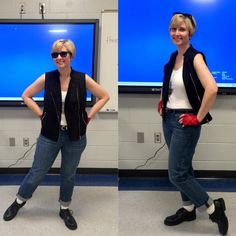 80s costume idea for Halloween or an 80s party: Watts from 'Some Kind of Wonderful' - get the how-to here: http://www.liketotally80s.com/2015/09/80s-costume-watts/
