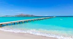 Playa del Muro en Alcudia. ¿Es o no es un paraiso? La playa de Muro en Alcudia se encuentra al Norte de la Isla de Mallorca, ocupa más de 5 km de la costa en la gran Bahía de Alcudia.