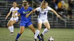 Hofstra got its second conference win of the season and moved to overall with a win at home over Delaware in women's soccer action. College Soccer, Thing 1, Overalls, Goals, Running, Sports, Women, Hs Sports, Keep Running