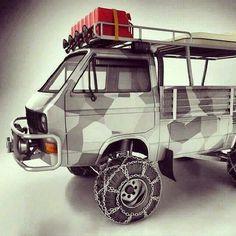 Vw Volkswagen camper campervan pickup flatbed
