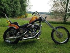 Ideas Motorcycle Harley Chopper Scooters For 2019 Chopper Motorcycle, Bobber Chopper, Cruiser Motorcycle, Motorcycle Garage, Harley Davidson Knucklehead, Harley Davidson Chopper, Harley Davidson Motorcycles, Custom Choppers, Custom Bikes