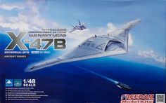 Check out our first-look of the new Freedom Models 1/48 X-47B UCAS kit