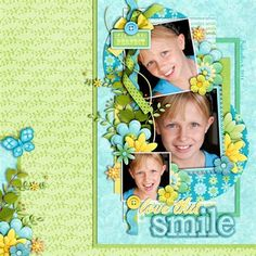 Smile - inspires me to use more bright colors
