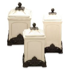 Buy Arthur Court Designs Grape Tuscan Canister from Bed Bath & Beyond