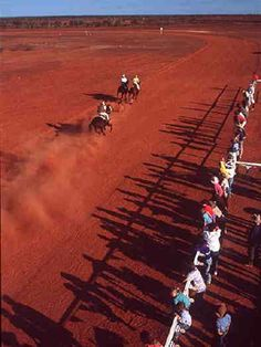 Birdsville Races, Queensland. A good reason to road trip the width of Queensland and see the desert.