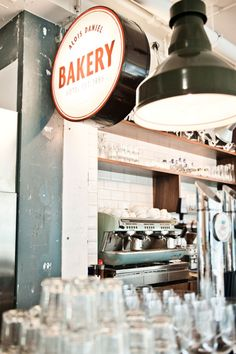 // oooh- this bakery bistro feel signage is just great design #graphic design
