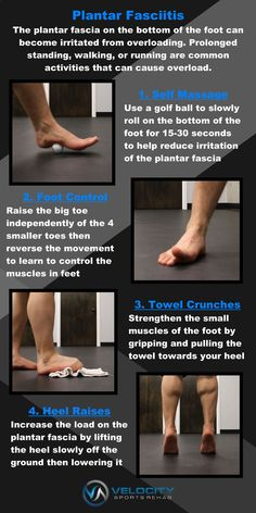 4 Exercise That Can Help With Plantar Fasciitis