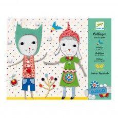 Collage para los pequeños muy suave Multicolor