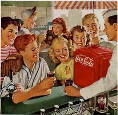 Soda Shops. What ever happend to them??? what happen to kids walking home from school, and playing baseball, didn't have any phones back then, what has happen to society? now days if you are a teenager or older, if you don't have a phone that is so weird!!!