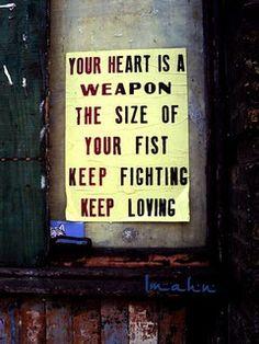keep loving heart