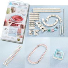 Martha stewart crafts knit weave loom kit 1set compact for Martha stewart crafts knit weave loom kit