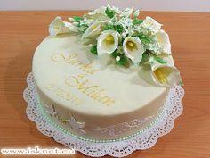 Torta Svadobná _ Bridecake, Wedding Cake _ Báječné torty od Ivanky a Slavomíra * Fabulous cakes * Báječné dorty