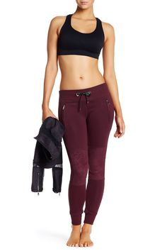 Faux Suede Quilted Jogger by Electric Yoga on @HauteLook