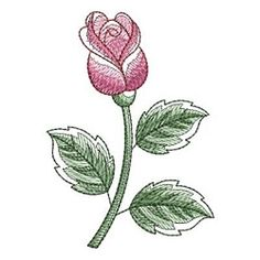 Sketched Roses 2, 14 - 4x4 | What's New | Machine Embroidery Designs | SWAKembroidery.com Ace Points Embroidery