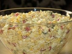 Sałatka z zupek chińskich jeszcze inaczej Calzone, Side Salad, Potato Salad, Cereal, Oatmeal, Recipies, Food And Drink, Menu, Rice
