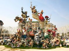 Oh, hey, March vacation! I'll see you in Valencia for la Falles!