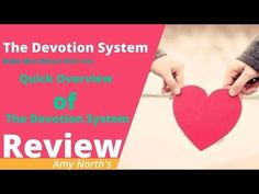 The Devotion System Reviews || Amy North The Devotion System Reviewed Make A Man, Your Man, How To Make, Dating Coach, Relationship Coach, Emotional Connection, Ex Boyfriend, Self Confidence, Teaching Tools