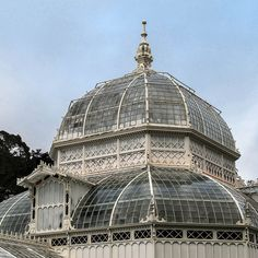 45.  The Conservatory of Flowers,  the oldest building in Golden Gate Park and one of San Francisco's most beloved landmarks.