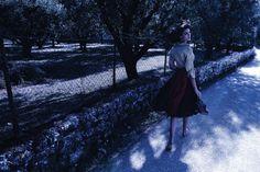 Fashiontography: Maryna Linchuk by Phil Poynter - Vogue Germany, September 2010