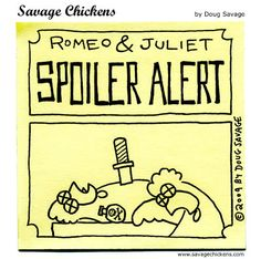 Savage Chickens - Romeo and Juliet