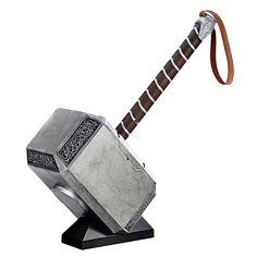 "Marvel - Thor - Mjolnir Marvel Legends Series 19.75"" Hammer Replica - ZiNG Pop Culture"