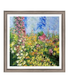 Loving this Colorful Field II Framed Giclée Print on #zulily! #zulilyfinds