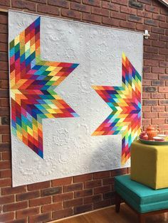 Fractured Lonestar quilt by Freebirdquiltingdesigns for RJR What Shade Are You?