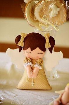 Welcome to Web Server Crochet Christmas Ornaments, Handmade Christmas Decorations, Christmas Crafts, Fabric Ornaments, Felt Ornaments, 1st Christmas, Christmas Angels, Felt Crafts, Diy And Crafts