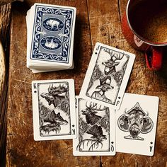 Bicycle® Frontier #playingcards.