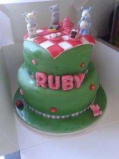 Ruby's 7th birthday cake