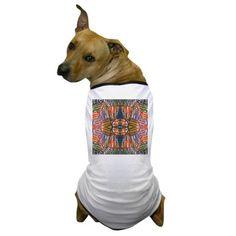 TheGlassCandyRack Dog T-Shirt on CafePress.com