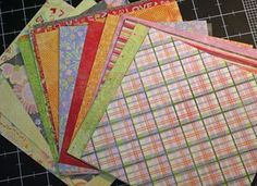 Mixing pattern papers, very good tutorial!
