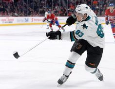 San Jose Sharks rookie forward Matt Nieto fires a shot on goal (Oct. 26, 2013).