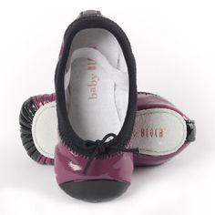Cute purple shoes
