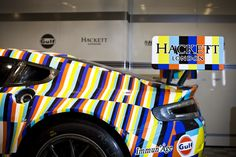 Aston Martin Racing has released photos of the Tobias Rehberger art car designed for the 24 Hours of Le Mans. See the Tobias Rehberger art car photos here. Aston Martin Vantage, Car Photos, Car Pictures, Le Mans, Tobias Rehberger, Illusion, Helmet Paint, Helmet Design, Motorcycle Bike