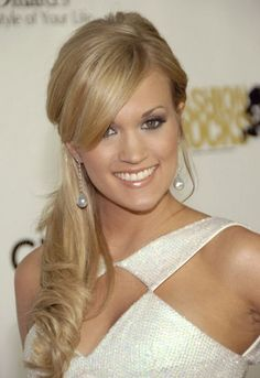 Carrie Underwood's awesome bridal hair doe