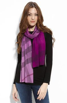 Love this purple! Wish I could wear scarves more often.