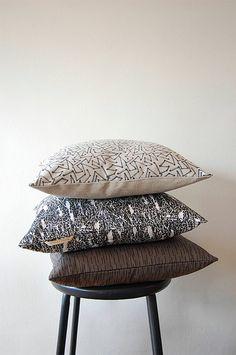 Lena Corwin pillows.