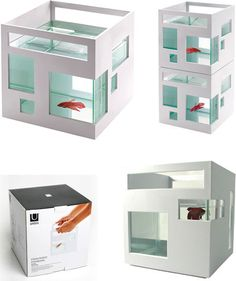 Fish Condo - stackable, carriable by Teddy Luong