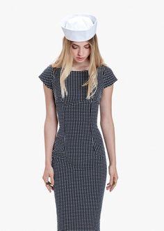 Vestido midi dots - Etxart & Panno - Tienda Online Oficial de ropa de mujer