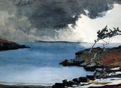 Winslow Homer The coming storm c. 1901 NGA | Prescott Art Docents