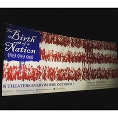 Check out @THEBIRTHOFANATION in theatres TODAY for a powerful history lesson! Beautifully shot, an amazing cast, & captivating music, makes for a must watch film!! #thebirthofanation #natturnerlives #nateparker #support #black #films #movie #film #equality #justice #theatre #cinema #change #music #history #sundance #independent #movies