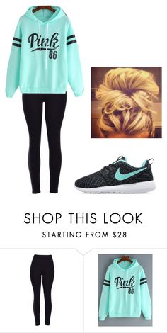 """Untitled #239"" by cuteskyiscute ❤ liked on Polyvore featuring NIKE"