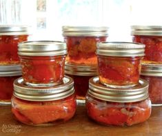 Canned Roasted Red Peppers