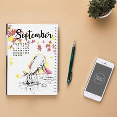"""""""And then the sun took a step back, the leaves lulled themselves to sleep and Autumn was awaked."""" – Raquel Franco  Link in BIO! Let's check… Take A Step Back, Take That, Let It Be, Bujo, Sleep, Leaves, Journal, Autumn, Link"""