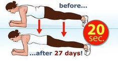 Cet exercice de quatre minutes par jour donne des résultats en moins d'un mois