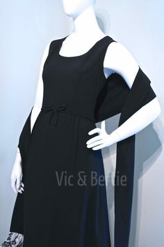 Vintage 1960s AUDREY HEPBURN Inspired Chic by VicAndBertieVintage